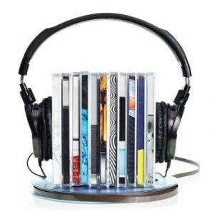colección minimalista de música
