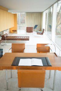 casa farnsworth minimalismo