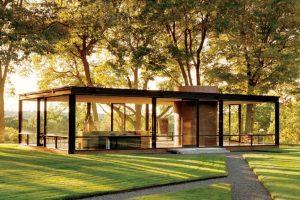 casa de vidrio philip johnson