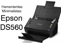 minimalismo epson workforce ds560