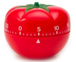 minimalismo tecnica pomodoro tomate