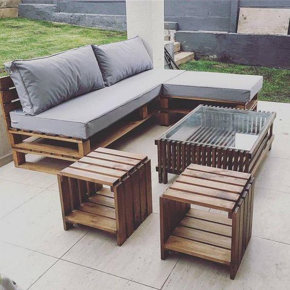 Muebles minimalistas con palets de madera minimalismo xyz - Muebles en palets de madera ...