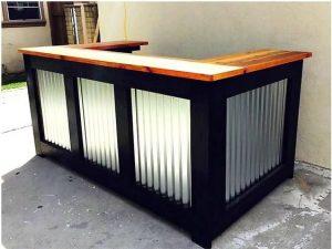 mueble de bar palets de madera