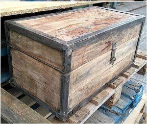 baul de palets de madera